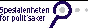 Spesialenheten for Politisaker - logo