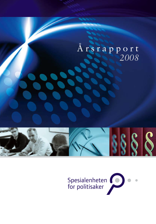 Spesialenhetens årsrapport 2008