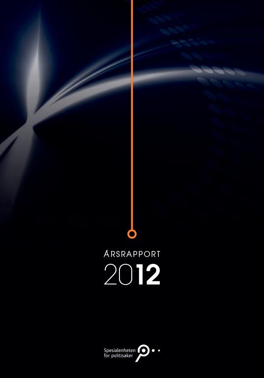 Spesialenhetens årsrapport 2012