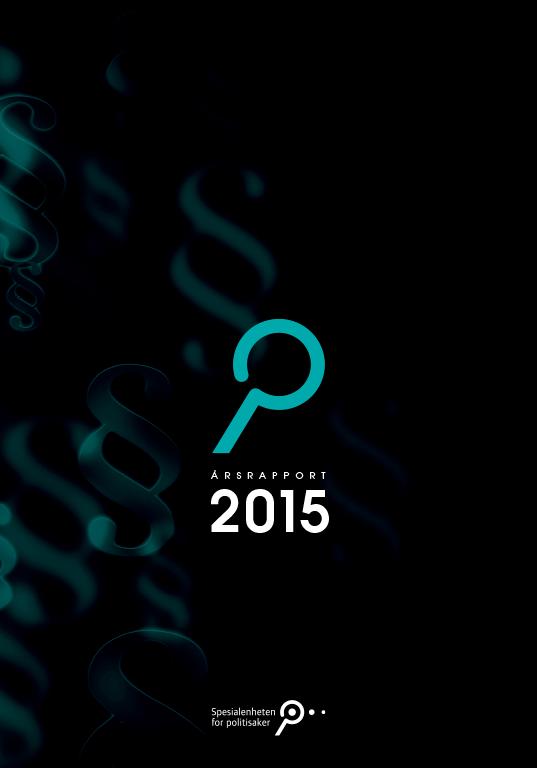 Spesialenhetens årsrapport 2015