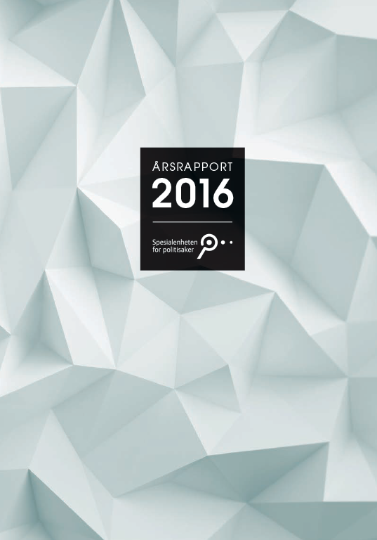 Spesialenhetens årsrapport 2016