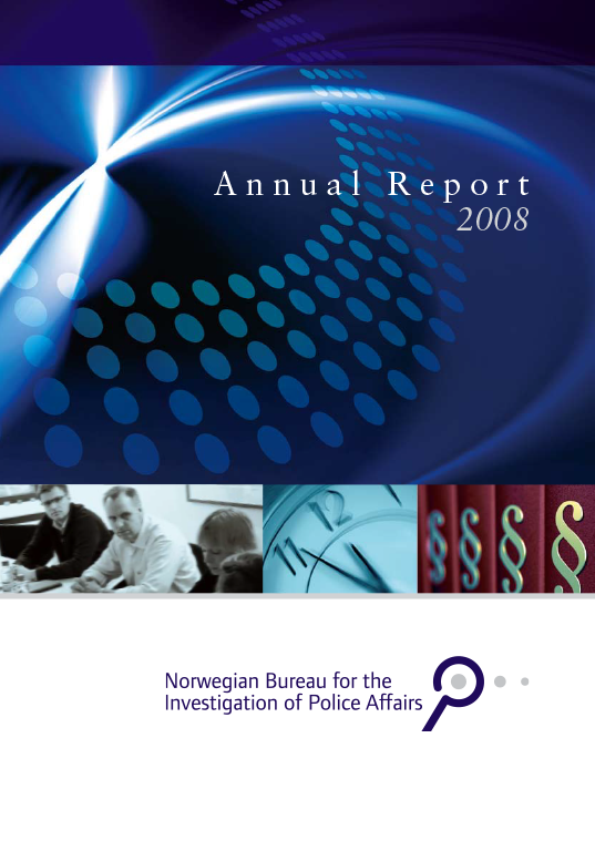 The Norwegian Bureau for the Investigation of Police Affairs - Annual report 2008