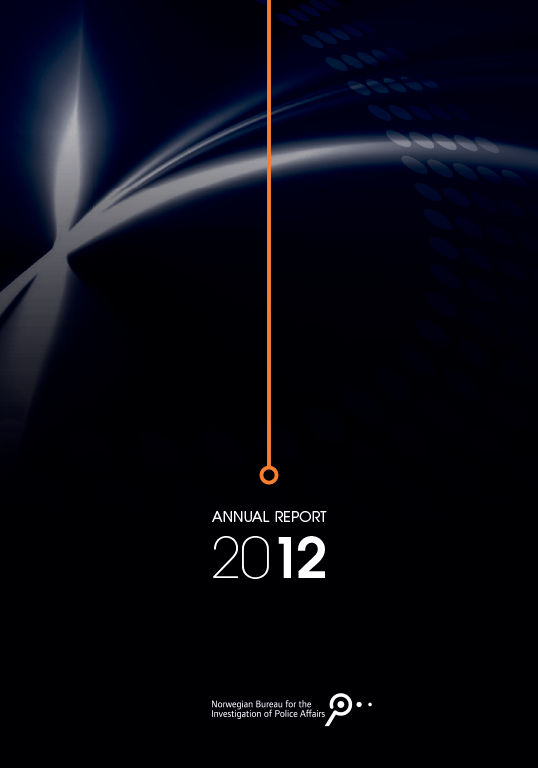 The Norwegian Bureau for the Investigation of Police Affairs - Annual report 2012